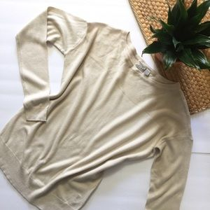 5 for $25🌻 Esprit soft cream light sweater